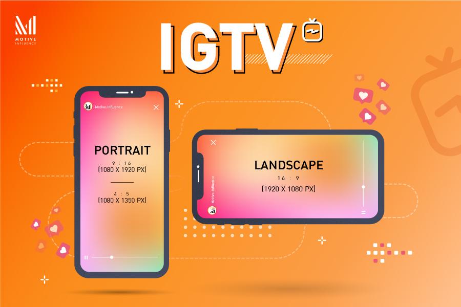 ขนาด IGTV