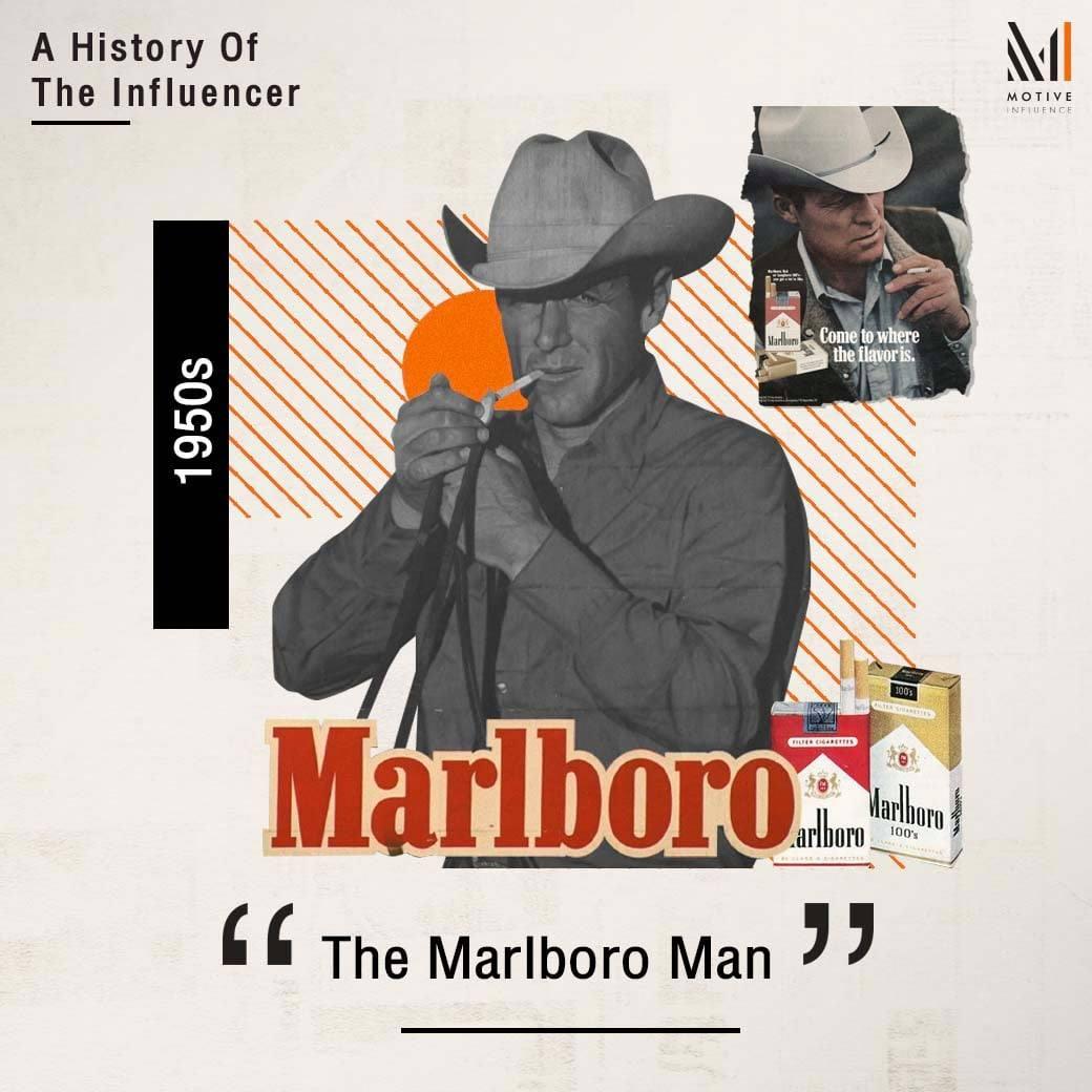 A History of The Influencer - Marlboro