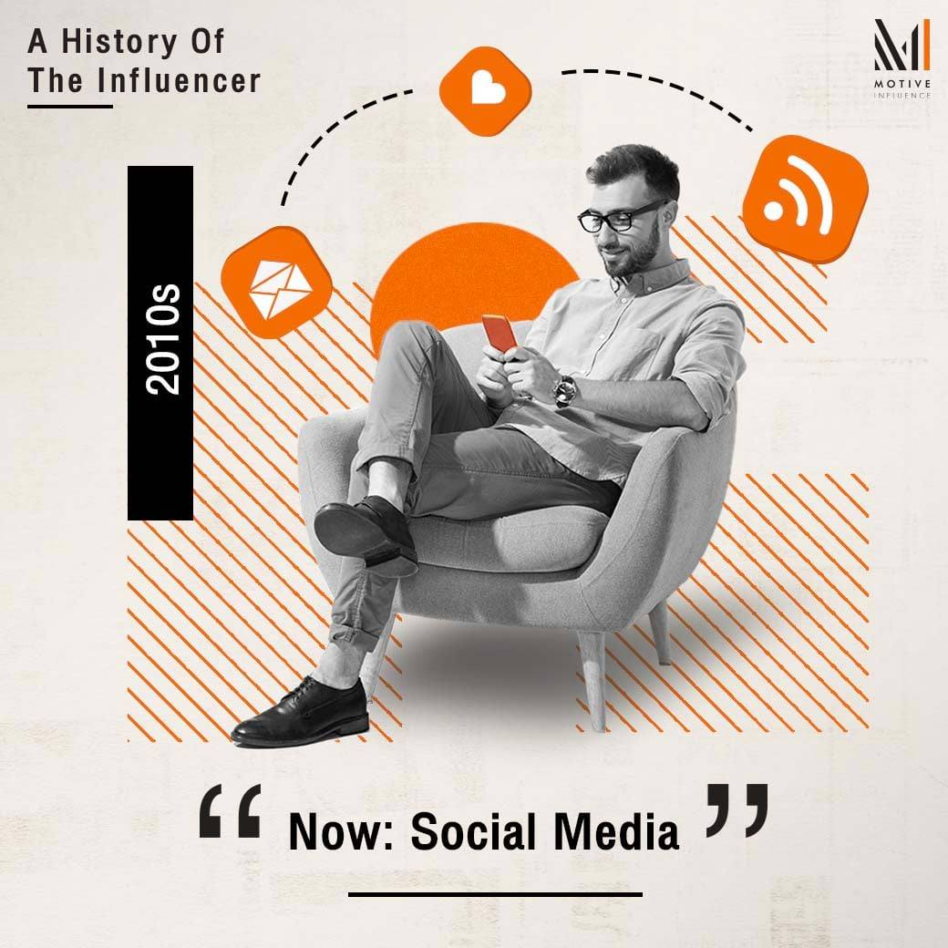 A History of The Influencer - Social Media